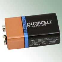 Duracell Ultra Power 9 V Block-Batterie