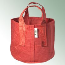 Root Pouch 30 L rot ca. ø 35 x 30 cm Höhe, Pflanztasche mit Tragegriff