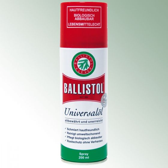 Ballistol Öl Spray 200 ml Post 1/15 L