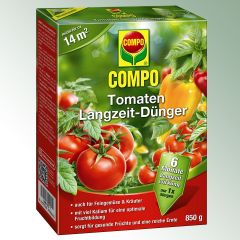 COMPO Tomaten Langzeitdünger 14,5+7+14,5(+2), Pack = 850 G